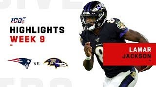 Lamar Jackson Comes at the King & Doesn't Miss | NFL 2019 Highlights
