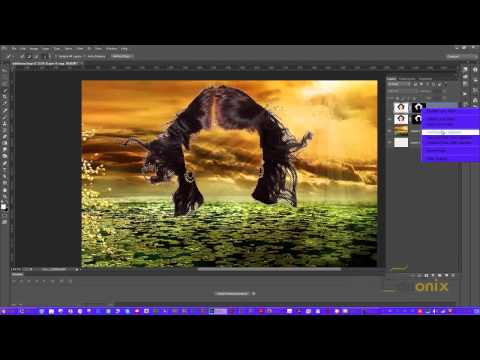 Adobe Photoshop Tutorial 21 - Selecting Hair and Advanced Selection