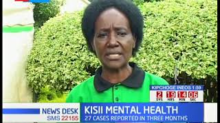 World mental health week marked in Kisii as 27 mental health cases reported in the last 3 months