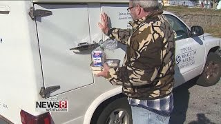 Warming centers and Meals on Wheels drivers keeping people warm