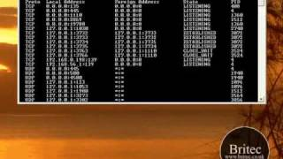 How to Use NETSTAT & FPORT Command to detect spyware, malware & trojans by Britec