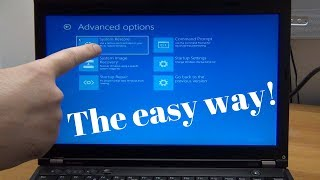 How to enter and use Automatic Repair Mode on Windows 10 - The easy way!