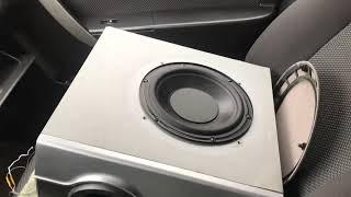 Как подключить и настроить сабвуфер от домашнего кинотеатра в машину без усилителя