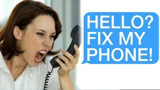 "r/Talesfromtechsupport ""HELLO? FIX MY PHONE!"" ""Ma"