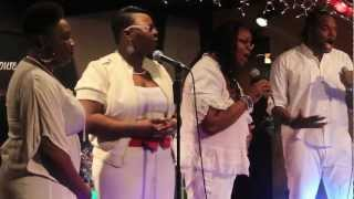 Katrice Cornett and Jermaine Jones perform live at the Fire House Cafe