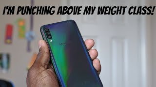 Samsung Galaxy A70   Punches way above it's class!