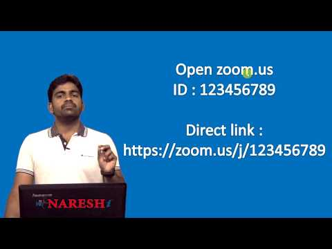 How to Attend the Classes in Online for Nareshit Students | Step by Step Process for Online Classes