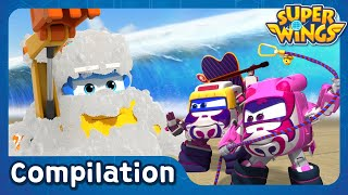 [Superwings s3 full episodes] EP16~EP20
