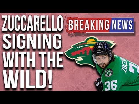 Zuccarello signing with the Wild!