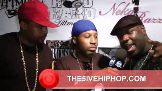 URBAN FEMALE ENTERTAINMENT: TIME 2 SHINE: Indie Heat Interview w/ Sope and 2/5th's of The 5ive