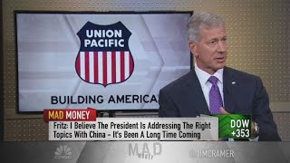 Union Pacific CEO says China must be held accountable