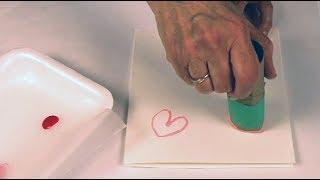 Une carte de Saint-Valentin