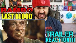 RAMBO: LAST BLOOD | Teaser TRAILER REACTION!!!