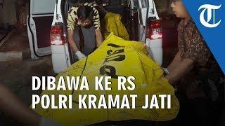 2 Jasad Korban Mobil Terpanggang di Sukabumi Tiba di RS Polri Kramat Jati