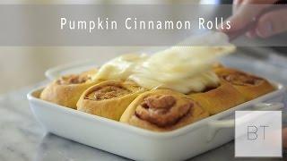 Pumpkin Cinnamon Rolls   Byron Talbott