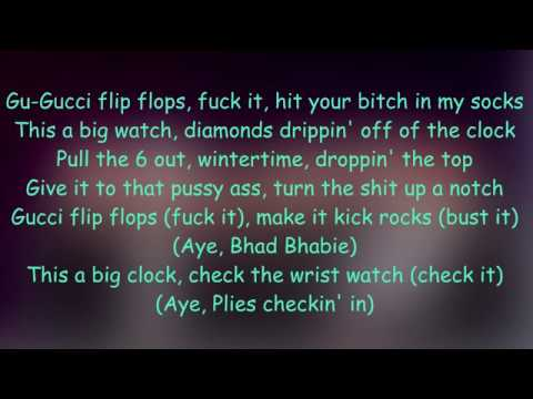 Gucci Flip Flops REMIX - Bhad Bhabie ft Snoop Dogg & Plies // lyrics
