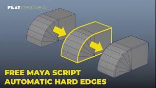 Tech Art: Script gratuito de selección de bordes en objetos 3D (Maya)