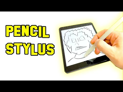 Make your own Pen stylus easily and inexpensively