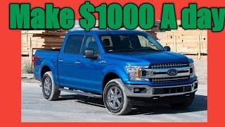 How to make $1000 a day with a pickup truck. #hauling #providingaservice