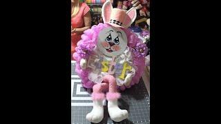Carmen's 2019 Easter Bunny Wreath