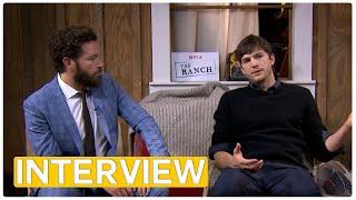 The Ranch - Ashton Kutcher & Danny Masterson | exclusive interview (2016) Netflix