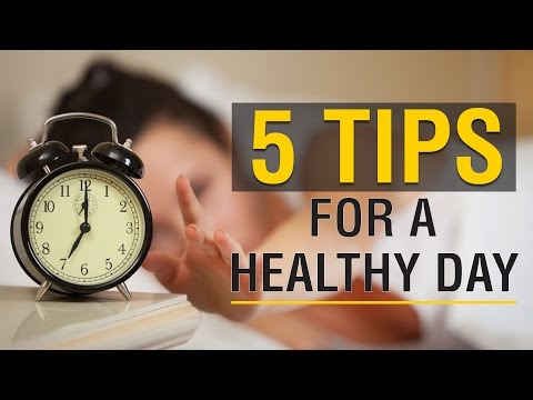 Video 5 Tips to Start the Day in a Healthy Way