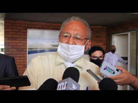 Prefeito de Teresina, Dr. Pessoa, comenta a reunião com a bancada federal