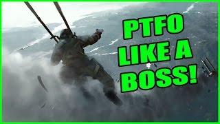 Battlefield 1 Multiplayer Gameplay - PTFO LIKE A BOSS! | Battlefield 1 Close Alpha