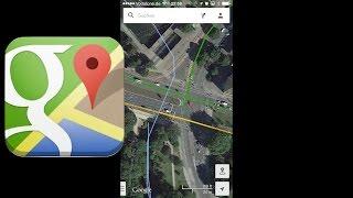 Entfernungsmessung Mit Google Earth : Google maps für android offlinemodus und das messen von