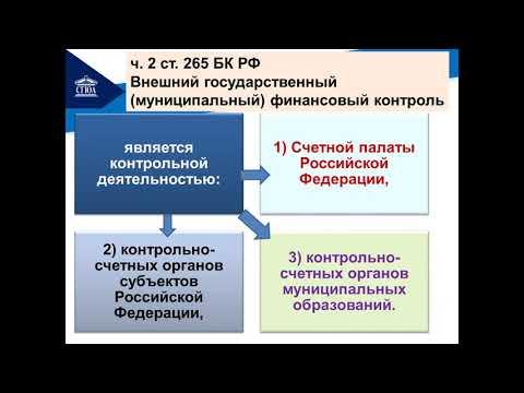 Виды финансового контроля в РФ