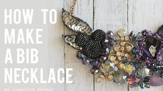 How To Make A Bib Necklace 💎
