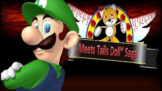 LUIGI IS FINALLY HERE TO SAVE THE WORLD!! Luigi Meets Tails Doll