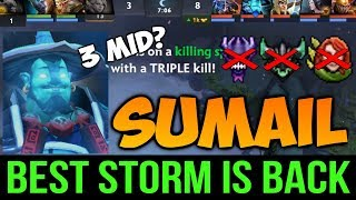 The Reason why Sumail is Best Storm Spirit, Even 3 Man Mid Can