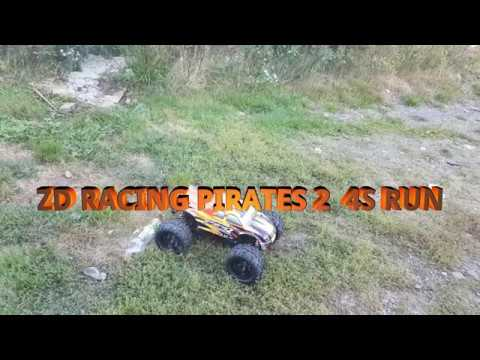 ZD RACING PIRATE 2 FIRST 4S RUN