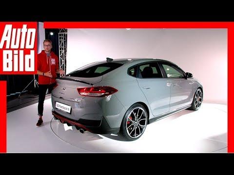 Hyundai i30 Fastback N (2018) Sitzprobe / Details / Review