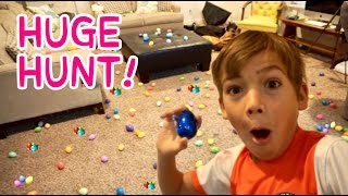 HUGE Easter EGG TREASURE HUNT! | Thousands Of Eggs