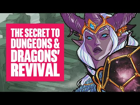 The Secret To Dungeons And Dragons' Revival And Popularity