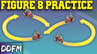 How To Do A Figure 8 On A Motorcycle / UK Module 1 Motorcycle Test Techniques