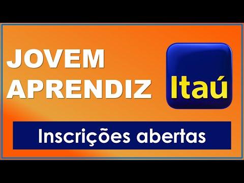 Banco Itaú com inscrições abertas para jovem aprendiz