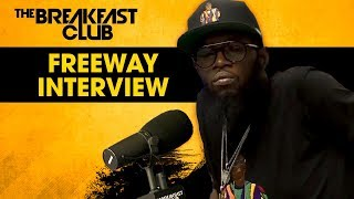 The Breakfast Club - Freeway Opens Up About Dealing With Kidney Disease During The Making Of His Latest Project