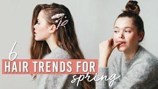 6 Hair Trends For Spring