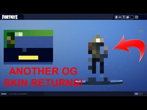 FORTNITE ANOTHER OG SKIN RETURNS!!!