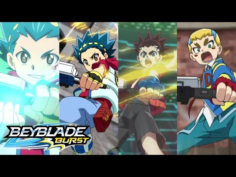 Beyblade Burst: All English Trailers (Seasons 1-4)
