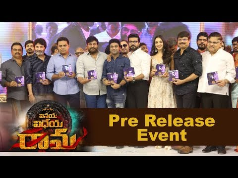 Vinaya Vidheya Rama Movie Pre Release Event