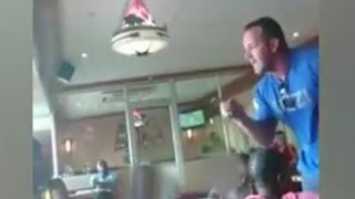 Man threatens to beat up mother in Spur restaurant' sparking outrage