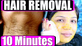 In 10 Minutes How To Remove Facial Hair Permanently At Home   SuperPrincessjo