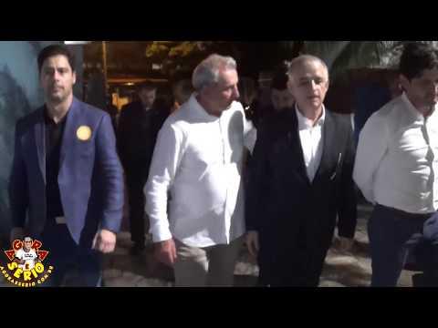 Veja como foi a chegada do Vice - Governador Marcio França em Juquitiba