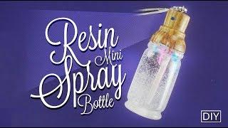 Resin SPRAY Bottle Necklace [DIY]