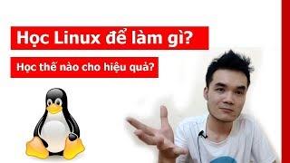 Học linux để làm gì? Học linux như thế nào cho hiệu quả?