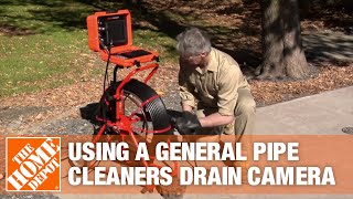 General Pipe Cleaners Drain Camera | The Home Depot Rental
